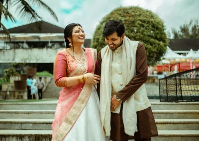 Monisha and Samarth Engagement